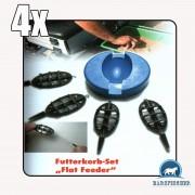 "Futterkorb-Set ""Flar Feeder"", 15/20/24/30gr, Futterkörbe, Method"
