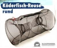 Köderfisch-Reuse rund 60 cm lang, ∅ 30 cm