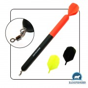 Marker Float 3 Flights ∅15mm / 200mm, Markerpose, Balsa Holz, CARPFISHING