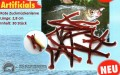 Rote Zuckmückenlarve, Mückenlarve, ca.2,8cm (30 Stück)